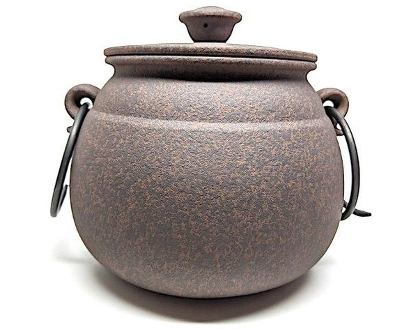 Boiled Tea Cauldron Set - Deep Charcoal