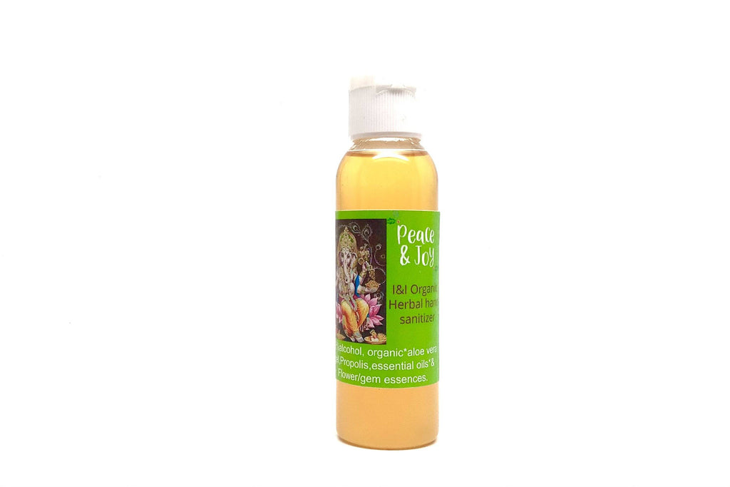 Organic Herbal Hand Sanitizer - 2oz.