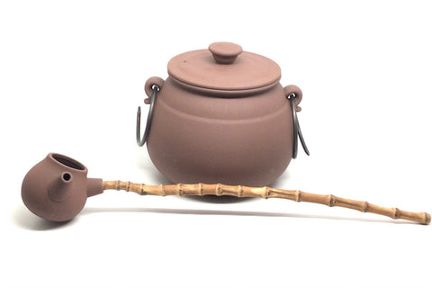 Boiled Tea Cauldron Set - Fireclay