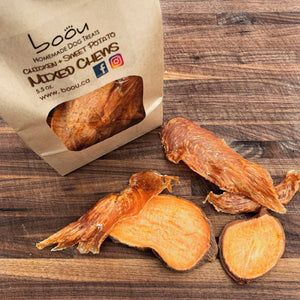 Chicken & Sweet Potato Mixed Chews