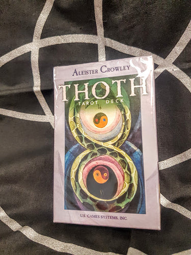 Thoth Tarot Deck Aleister Crowley