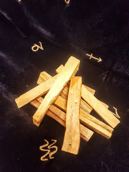 Palo Santo Smudging Supplies