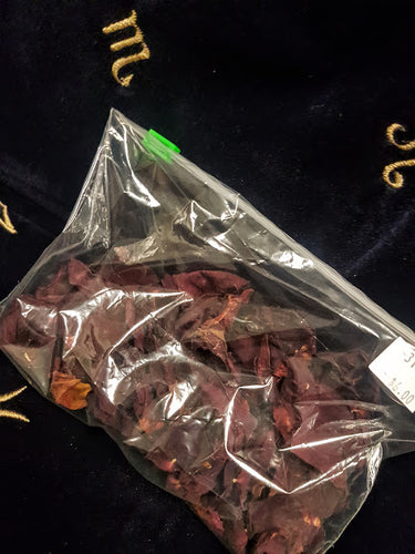 Red Rose Petals Ritual Supplies