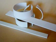 Faux Bone Cuff Strips - 1/8