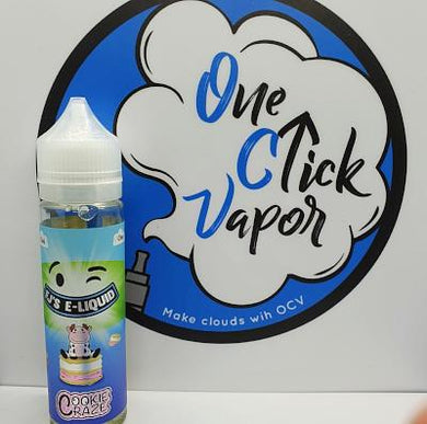 FJ's E-liquid - Cookie Craze 50ml - One Click Vapor