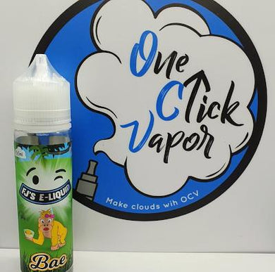 FJ's E-liquid - Bae 50ml - One Click Vapor