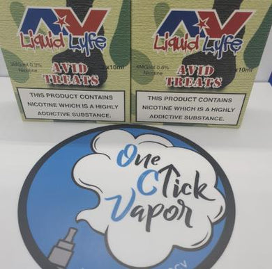 Avid Liquid Lyfe - Treats 3x10ml - One Click Vapor