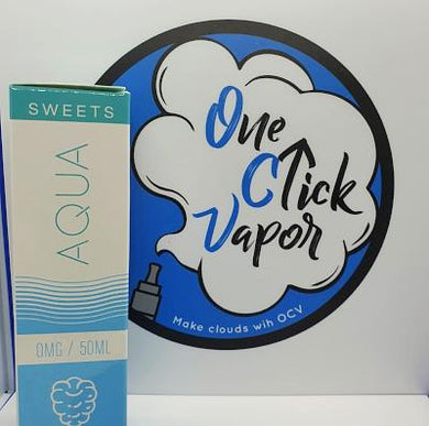 Aqua - Blue Razz 50ml - One Click Vapor