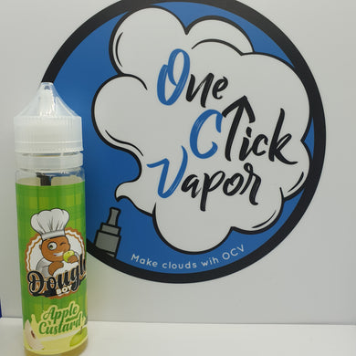Dough Boy E-liquid | Apple Custard | 50ml | 70% VG | 0mg | Short Fill - One Click Vapor