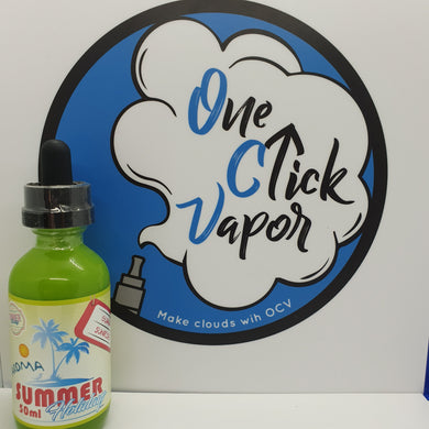 Dinner Lady | Summer Holidays | Guava Sunrise | 50ml | 0mg | Short Fill - One Click Vapor