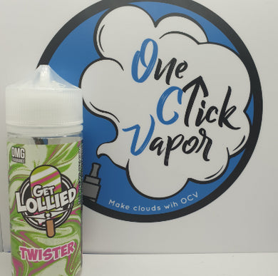 Get Lollied - Twister 100ml - One Click Vapor