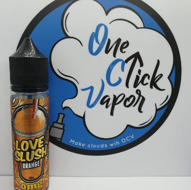 Love Slush E-Liquid - Orange