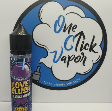 Love Slush E-Liquid - Blackcurrant