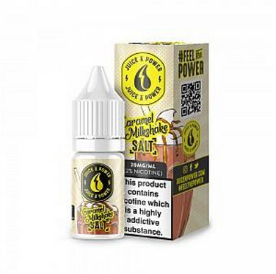 Juice 'N' Power Nic Salt - Caramel Milkshake 20mg 10ml