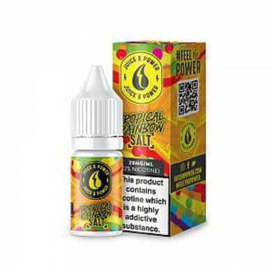 Juice 'N' Power Nic Salt - Tropical Rainbow 20mg 10ml