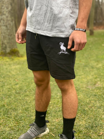 Cotton Sweat Shorts - Black