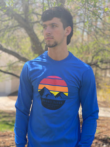 Long Sleeve - Blue Sunset Design