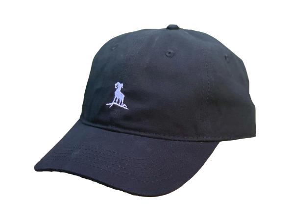 Dad Hat - Black/White