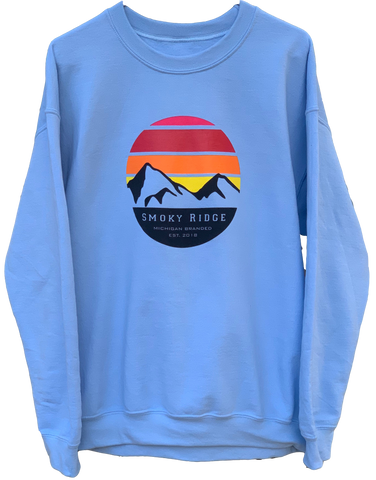 Crewneck - Baby Blue Sunset Edition