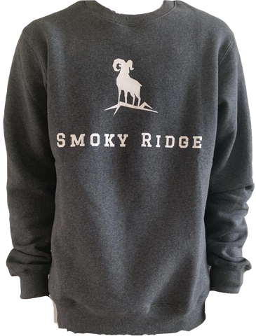 Crewneck - Grey Smoky Ridge Edition
