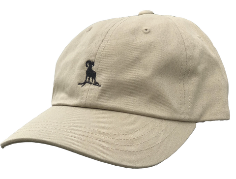 Dad Hat - Khaki/Black