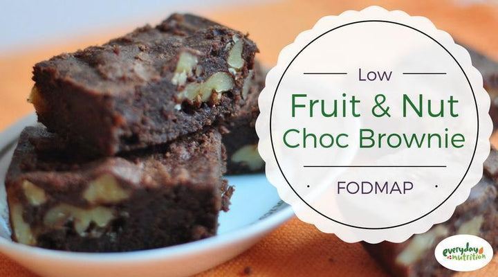 Chocolate and Fruit Nut Brownie-Live Free Foods-Low FODMAP