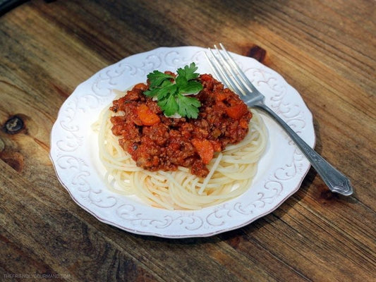 Classic Spaghetti Bolognese-Live Free Foods-Low FODMAP