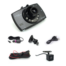 Load image into Gallery viewer, 2.7 Inch Car Dash Cam Full HD 1080P (wide angle dual lens)
