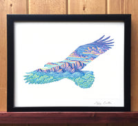 Mountain Eagle Print
