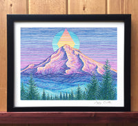 Mount Hood Sunset Print