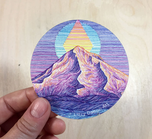 Mount Hood Sticker