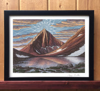 Merriam Peak Print