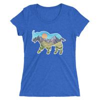 Mountain Goat Ladies' T-shirt