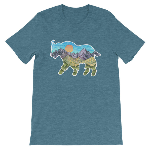 Mountain Goat Unisex T-shirt