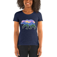Sunset Bear Ladies T-shirt