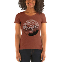 Mountain Circle Ladies' T-shirt
