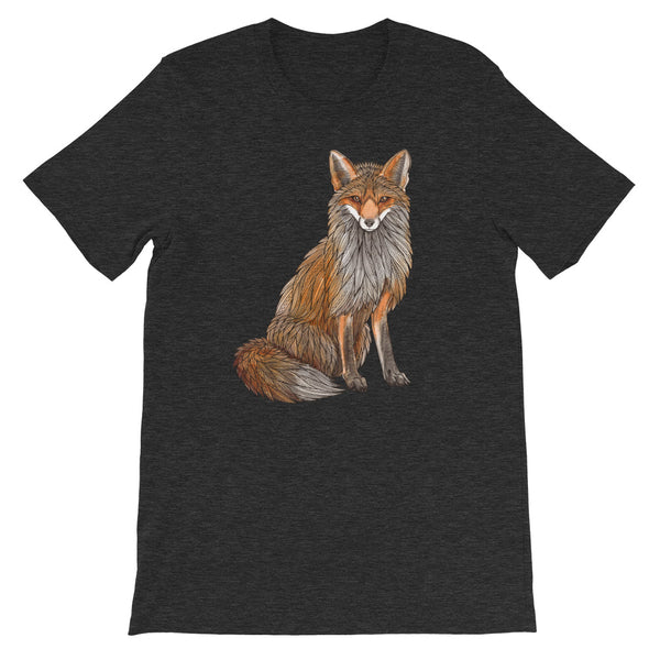 Sitting Fox Unisex T-shirt