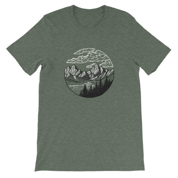 Mountain Circle Unisex T-shirt