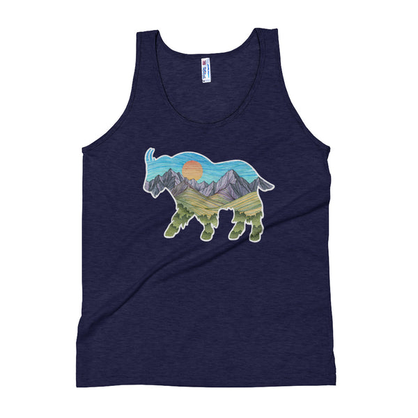 Mountain Goat Unisex Tank Top