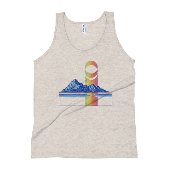 Blue Mountains Unisex Tank Top