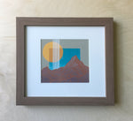 Untitled Mountain Study 5 Framed Original Painting