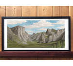 Yosemite Tunnel View Print