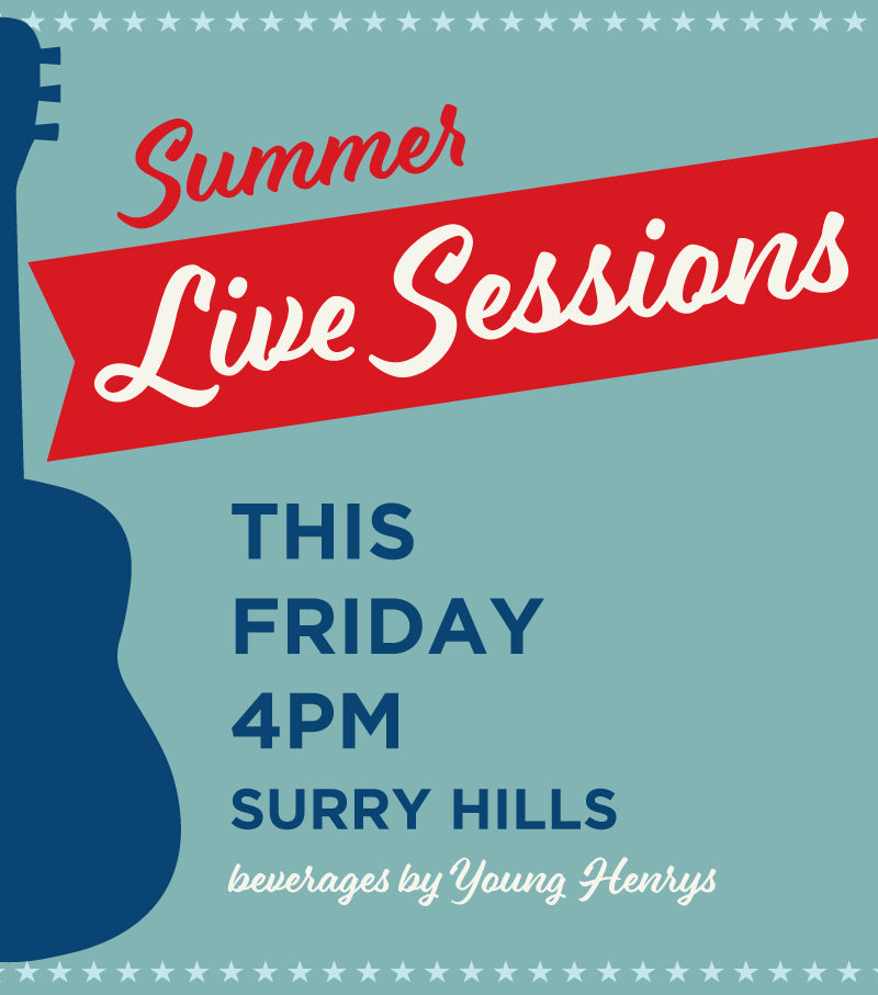 LIVE SESSIONS Summer 2019
