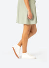Team White boot with fashion dress Womens
