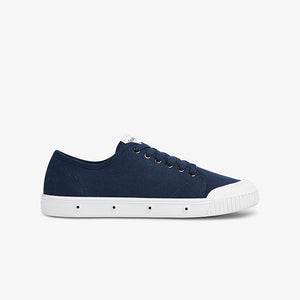 Womens Organic Low Cut Sneakers Side photo