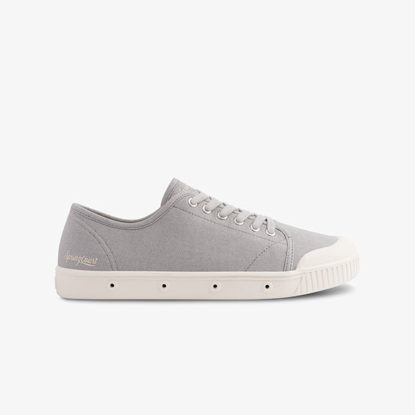 Grey Women's Springcourt lace up sneaker
