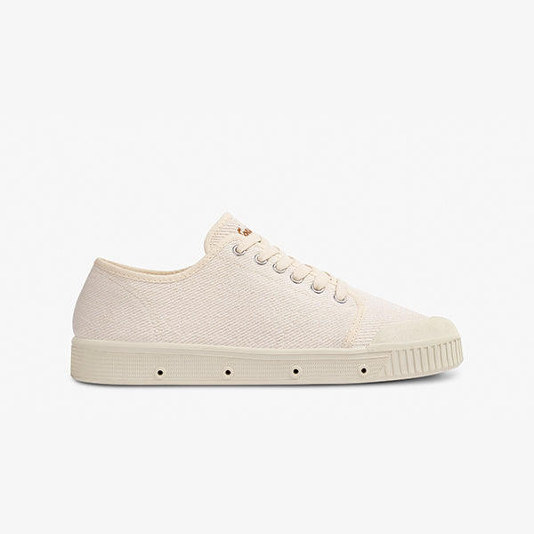 Women's Vintage Off White Sneakers Side View