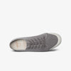 Mens Grey  Twill Sneakers side view