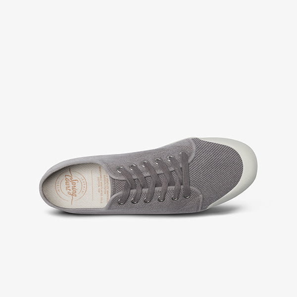 Top View Women's Washed Twill Springcourt Lace Up Sneaker