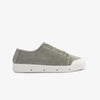 Green Leaf Washed Twill Womens Lace Up Shoes.
